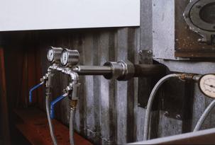 Zweistoff-Düsenlanzen mit eingebauter Kühlung
